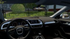 Audi S4 2010 (1.5.9) - City Car Driving мод (изображение 4)