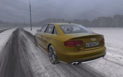 Audi S4 2010 (1.5.9) - City Car Driving мод (изображение 5)