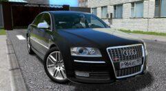 Audi S8 08′ (1.5.9) - City Car Driving мод