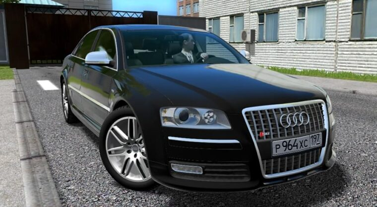 Audi S8 (устаревшая версия) (1.5.9) - City Car Driving мод