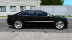 Audi S8 (устаревшая версия) (1.5.9) - City Car Driving мод (изображение 2)