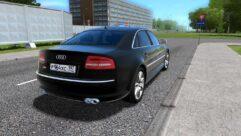 Audi S8 (устаревшая версия) (1.5.9) - City Car Driving мод (изображение 3)