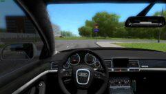 Audi S8 (устаревшая версия) (1.5.9) - City Car Driving мод (изображение 4)