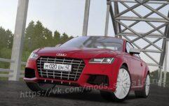 Audi TT RS (1.5.9) - City Car Driving мод (изображение 5)