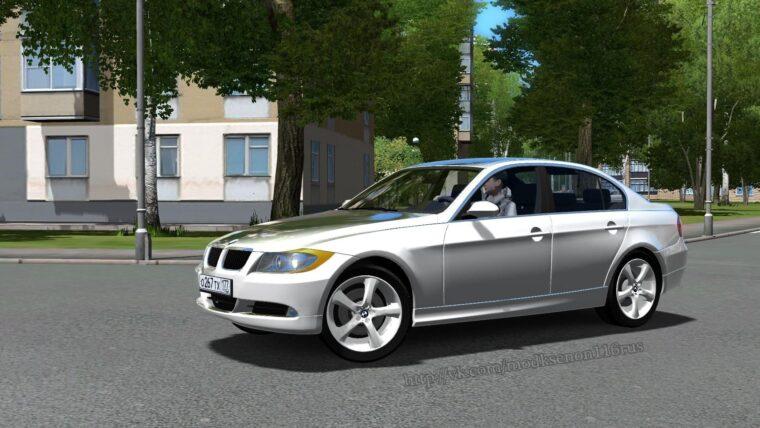 BMW 3 E90 (1.5.9) - City Car Driving мод