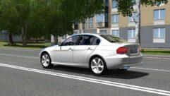 BMW 3 E90 (1.5.9) - City Car Driving мод (изображение 2)