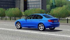 BMW 335i F30 (1.5.9) - City Car Driving мод (изображение 4)