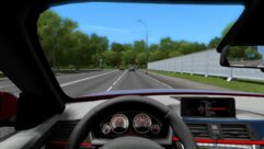 BMW 335i F30 (1.5.9) - City Car Driving мод (изображение 6)