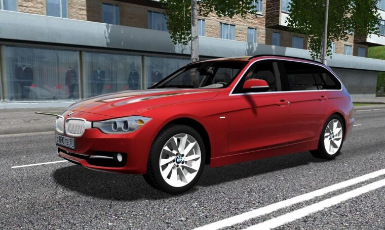 BMW 335i F31 (1.5.9) - City Car Driving мод