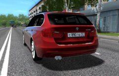 BMW 335i F31 (1.5.9) - City Car Driving мод (изображение 2)