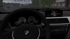 BMW 335i F31 (1.5.9) - City Car Driving мод (изображение 5)