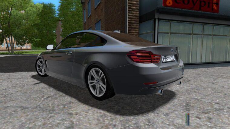 BMW 435i (1.5.9) - City Car Driving мод