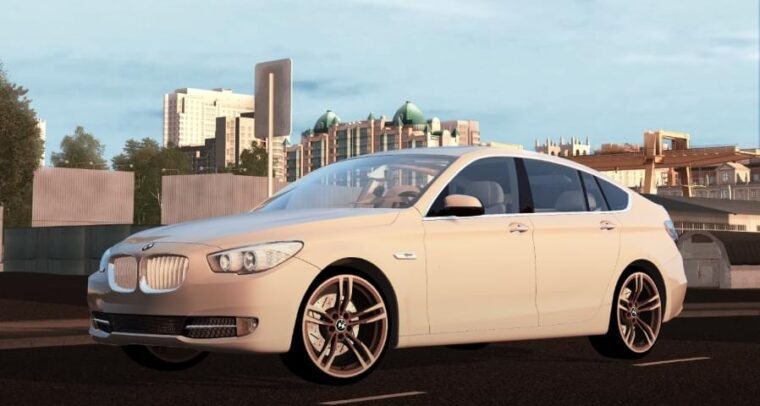 BMW 550i GT (1.5.9) - City Car Driving мод