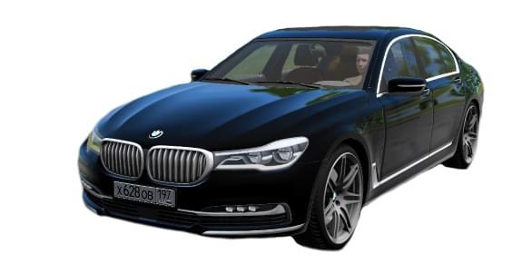 BMW 7-series 2016 (1.5.9) - City Car Driving мод
