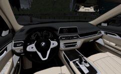 BMW 7-series 2016 (1.5.9) - City Car Driving мод (изображение 3)