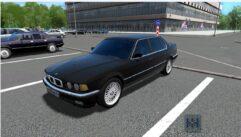 BMW 735i E32 1994 (1.5.9) - City Car Driving мод (изображение 2)