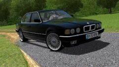 BMW 735i E32 1994 (1.5.9) - City Car Driving мод (изображение 3)