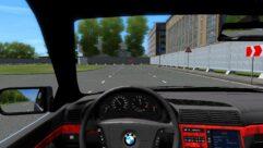 BMW 7 E38 (1.5.9) - City Car Driving мод (изображение 5)