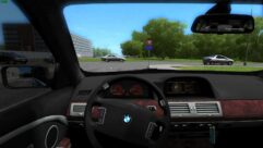 BMW 760Li (E66) (устаревшая версия) (1.5.9) - City Car Driving мод (изображение 4)