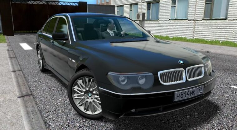 BMW 760i (E65) (1.5.9) - City Car Driving мод