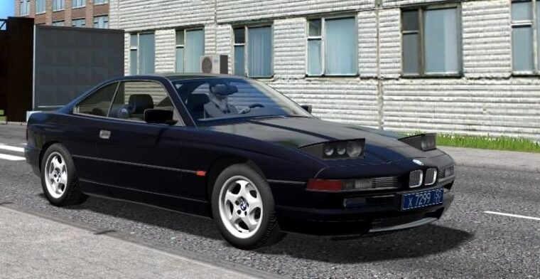 BMW 850CSi (1.5.9) - City Car Driving мод