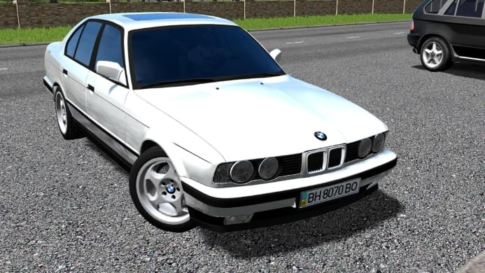 BMW E34 525i 1995 (1.5.9) - City Car Driving мод