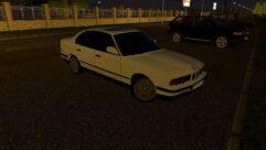 BMW E34 525i 1995 (1.5.9) - City Car Driving мод (изображение 4)