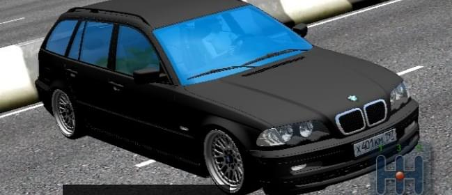 BMW E46 Touring 320 (1.5.9) - City Car Driving мод