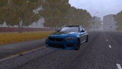 BMW F90 M5 (1.5.9) - City Car Driving мод (изображение 2)