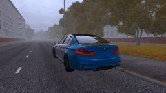 BMW F90 M5 (1.5.9) - City Car Driving мод (изображение 3)