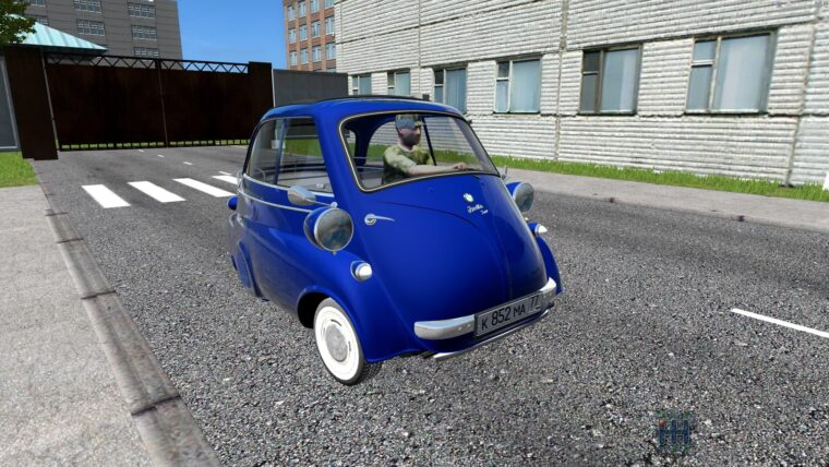 BMW Isetta 1962 (1.5.9) - City Car Driving мод