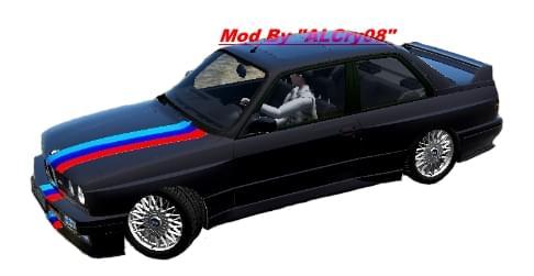BMW M3 E30 (1.5.9) - City Car Driving мод