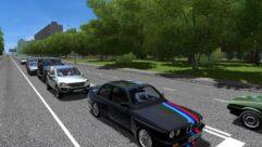 BMW M3 E30 (1.5.9) - City Car Driving мод (изображение 4)