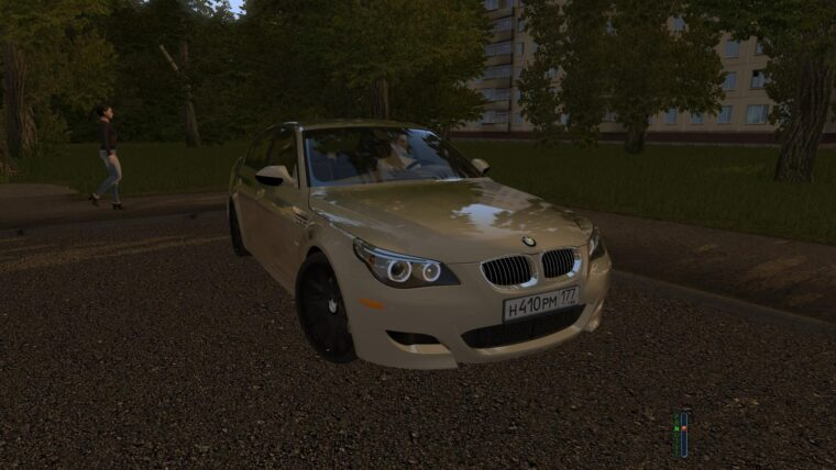 BMW M5 E60 (1.5.9) - City Car Driving мод