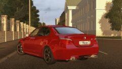 BMW M5 E60 2009 (1.5.9) - City Car Driving мод (изображение 6)