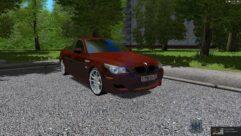 BMW M5 E60 Shadow (1.5.9) - City Car Driving мод (изображение 2)