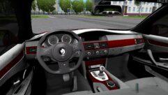 BMW M5 E60 Shadow (1.5.9) - City Car Driving мод (изображение 6)