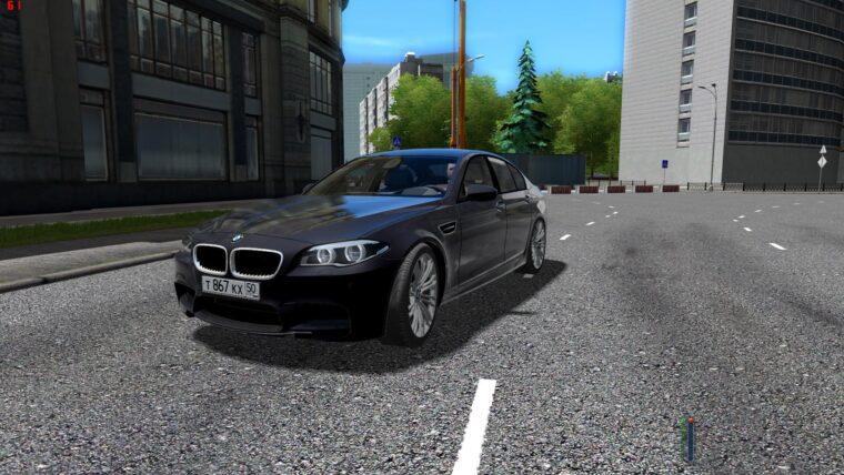 BMW M5 F10 (устаревшая версия) (1.5.9) - City Car Driving мод