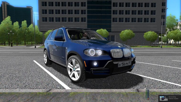 BMW X5 E70 (1.5.9) - City Car Driving мод