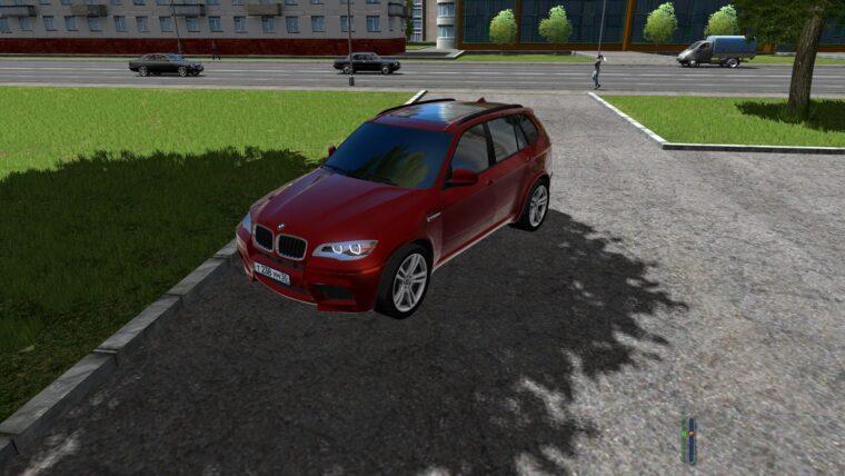 BMW X5 M (1.5.9) - City Car Driving мод