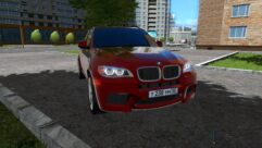 BMW X5 M (1.5.9) - City Car Driving мод (изображение 3)