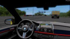 BMW X5 M GOLD (1.5.9) - City Car Driving мод (изображение 2)