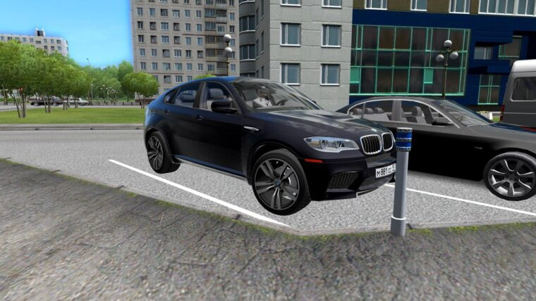 BMW X6 M (1.5.9) - City Car Driving мод