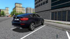 BMW X6 M (1.5.9) - City Car Driving мод (изображение 3)