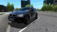 BMW X6 M (1.5.9) - City Car Driving мод (изображение 4)