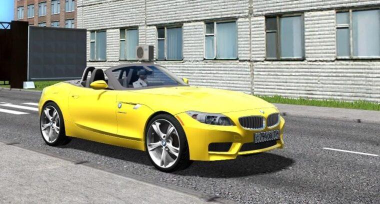 BMW Z4 sDrive28i (1.5.9) - City Car Driving мод