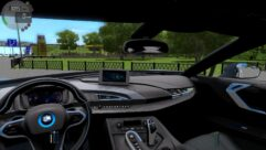 BMW i8 (1.5.9) - City Car Driving мод (изображение 6)