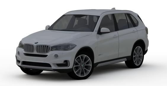 BMW x5 F15 (1.5.9) - City Car Driving мод