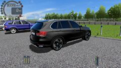 BMW x5 F15 (1.5.9) - City Car Driving мод (изображение 3)