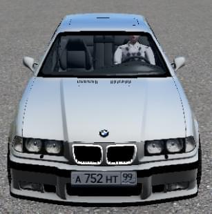 BMW M3 E36 (1.5.9) - City Car Driving мод
